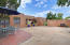 Walled courtyard with access to private hot tub courtyard
