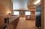 Open Kitchen into living room and dining. Great views of lake off back deck.