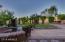 Grassy yard with fountian