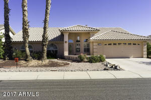 2 bedrooms plus a den, 2 bathrooms, golf course lot, swimming pool.