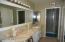 Master Bath, Walk-in shower and walk-in closet