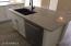 Gorgeous Quartz Counters with edge detail