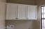 Cabinets over Washer and Dryer