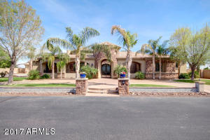 Beautiful Tuscan style home on half-acre lot.