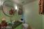 Half Bath Near Family Room & Kitchen