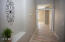 Wide Hallway To Master Giving Spacious Feel, Art Nook
