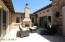 Relax in the courtyard and enjoy the gas fireplace.