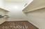 OWNER'S SUITE WALKIN CLOSET-MUST SEE CEILING HEIGHT IN CLOSET!!!
