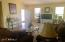 Spacious Family Room with Patio. Open and Bright.