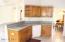 Kitchen sink with sit up bar