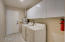 Laundry Room with Storage