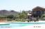 Beach entry resort pool