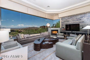 Breathtaking views and one of two natural gas fireplaces