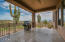 Wonderful extended length patio, Red Rock View actually closer than appears in photo. Natural gas piped grill stays!