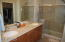 Master Bath w/ Double Sinks and walk in Shower