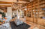 Floor to Ceiling Custom Library Shelving