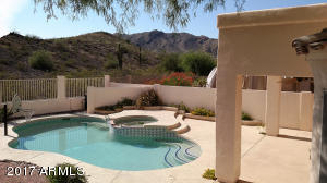 Heated Pool and SPA with expansive Patio areas (both Shaded & Sunny), to entertain all your guests and family.