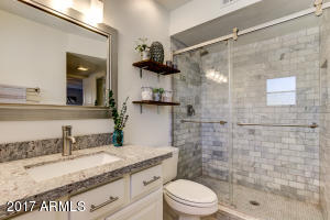 Check out this master bathroom remodel!