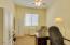 Bonus room off the master suite