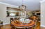 3 different dining options... formal dining room, breakfast bar, & eat-in kitchen