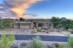 A soft, transitional contemporary style home.