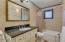 Tiled Shower, Marble Sink