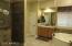 New Tile shower enclosure.