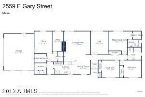 2559 E Gary Street, Mesa, AZ 85213