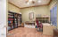Bedroom or office or den right off living room