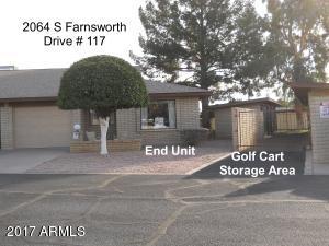 2064 S FARNSWORTH Drive, 117, Mesa, AZ 85209