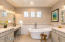 Master Bath re-imagined and re-designed also