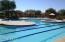 Huge resort pool with 3 lap lanes