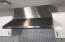 36 inch KitchenAid range hood with vent flange