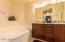 LARGE JET TUB, DOUBLE SINKS AND GRANITE