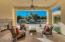 Deluxe entertaining space off of living room with 2-way gas fireplace.
