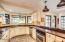 CHECK OUT THIS GORGEOUS KITCHEN WITH HUGE COUNTER AREA!