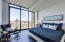 Master bedroom with North facing views over Margaret T. Hance Park