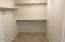 Walk in closet for 2nd upstairs bedroom. Are we seeing lots of walk in closets?