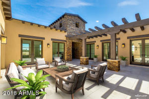Virtually Staged Courtyard