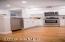Kitchen Flooring, Cabinets, Wine Rack & Recessed Lighting