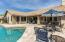 Large covered patio and gorgeous pavers!