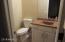 1/2 bath in basement