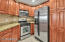 Kitchen With Gas Range (Gas Included In HOA)