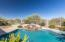 Enjoy sunset and golf course views from the private pool and spa!