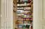 More storage! Panty organizer keeps everything perfect.
