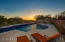 Privacy and sunset views