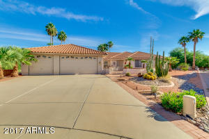 This South facing home has it all including a 3 plus car garage with enough room for a workshop area, workout area or golf cart parking space.