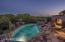 Backyard at Sunset
