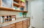 Laundry room custom cabinets provide the perfect space for home organization