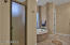 Master bath ,shower,tub,toilet